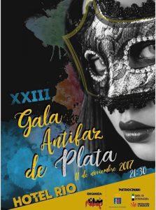 Cartel de la XXIII Gala de los Antifaces de Plata