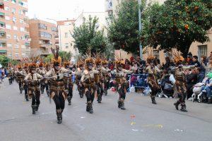 Comparsa Caribe en el desfile del domingo