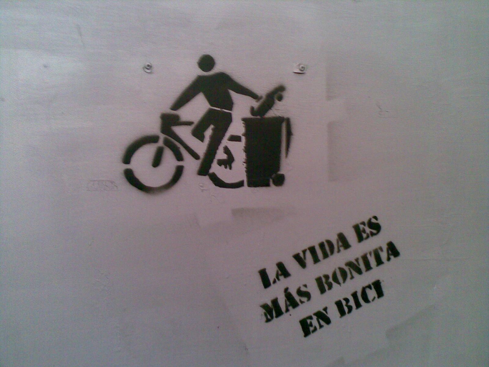 La vida es más bonita en bici