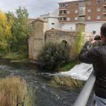 Molino de San Lázaro  dede el puente de San Miguel