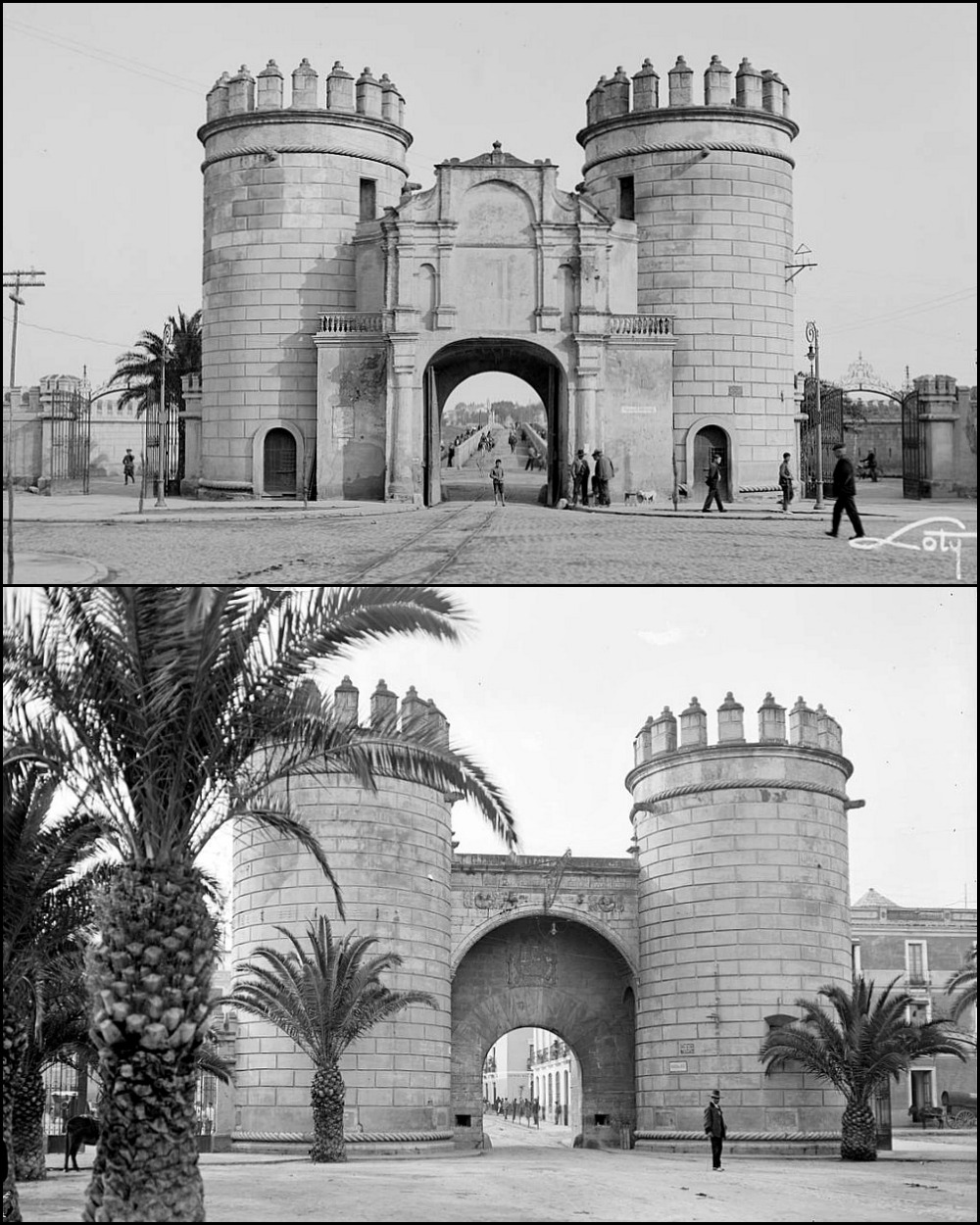 Badajoz a os treinta guiris por extremadura blogs - Puertas las palmas ...