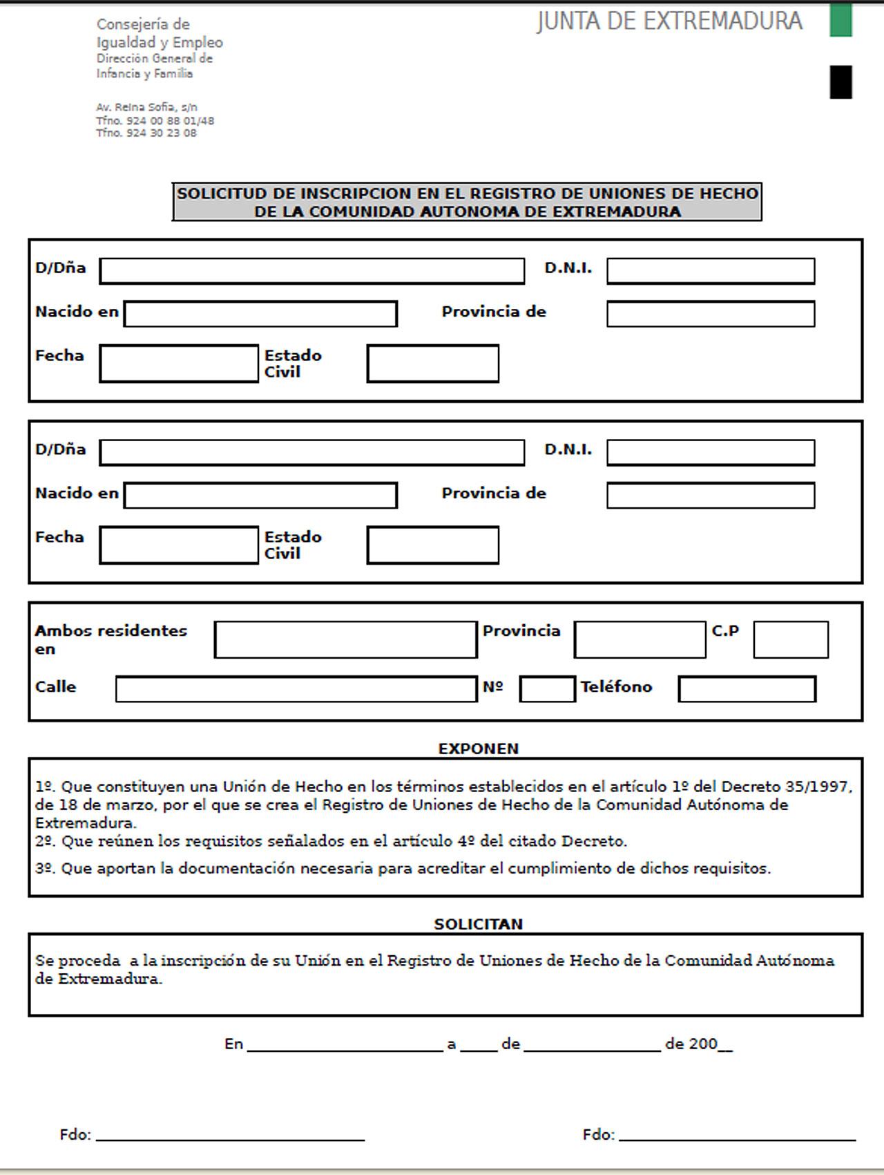 Casarnos o registrarnos como pareja de hecho mis l os legales blogs - Telefono registro bienes muebles madrid ...