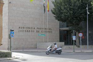 audiencia provincial, juzgados de caceres