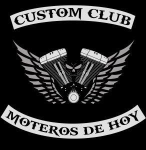 Logo Custom Club Moteros de Hoy _
