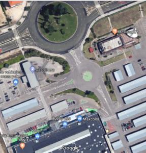 foto extraída del google mapa