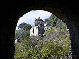 Detalle de campanario desde el refectorio (V. Gibello).