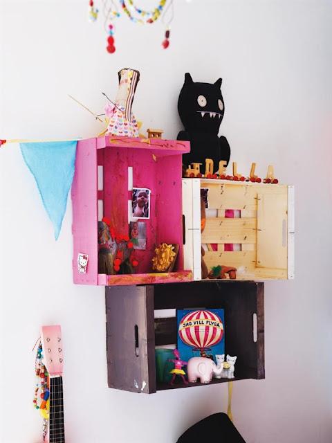 C mo decorar y amueblar con cajas de madera red decora for Como decorar mi habitacion yo misma