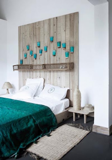 C mo dise ar un cabecero con poco dinero red decora for Dormitorio cabecero blanco