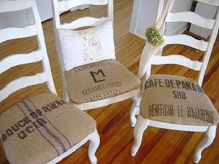 C mo decorar con sacos de caf red decora blogs for Como montar una cafeteria
