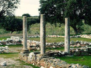 Yacimiento romano de Monroy:: JESÚS MIGUEL ALBARRÁN