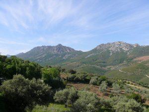 Vistas del Geoparque Villuercas-Ibores-Jara.