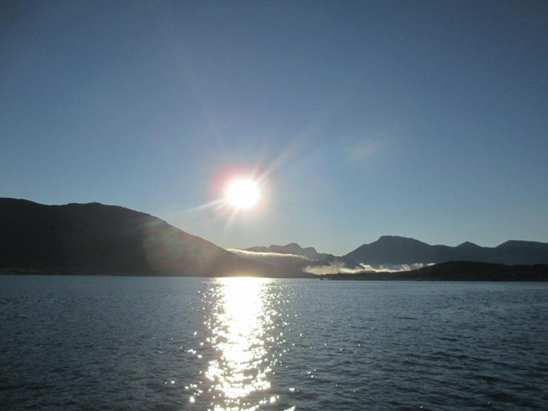 el Sol calienta el hielo