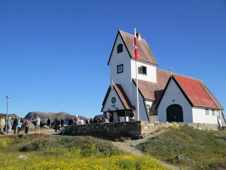 Todo un símbolo de la ciudad, la bella iglesia celebrando su centenario el 2016
