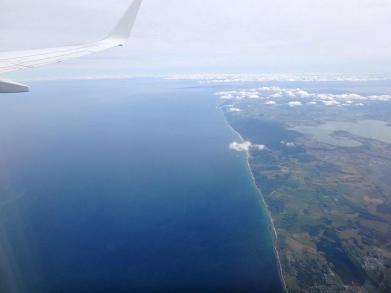 Dejo atrás la verde y fresca Dinamarca